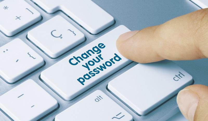 Update your password
